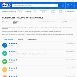 Forefront Trading PTY LTD