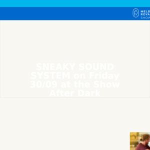 Royal Melbourne Show