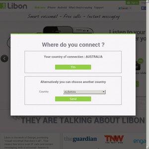 Libon iOS App - 6 Months of Free International Calls, 1 Hour Per