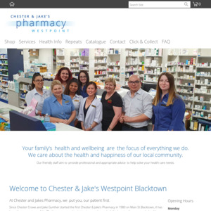 Chester and Jake's Pharmacy
