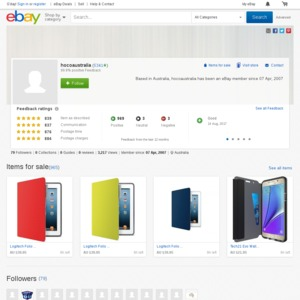 eBay Australia hocoaustralia