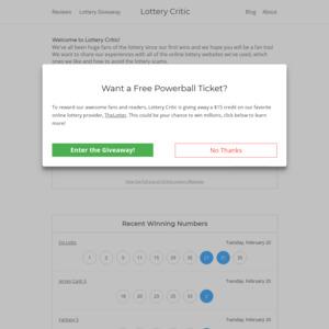 lotterycritic.com