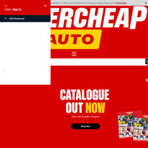 Shop for car parts and accessories on the cheap with these codes for Supercheap Auto.