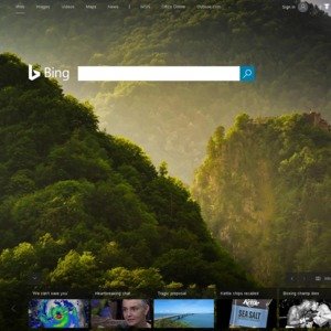 Free 500 Microsoft Rewards Points for First Bing Search via