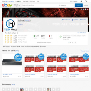 eBay Australia tech.mall