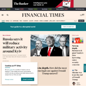 Try Financial Times Free for Six Months Courtesy of Google