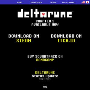 deltarune.com
