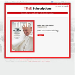TIME Subscriptions