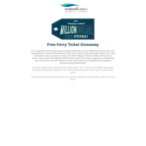 freeferrytickets.com.au