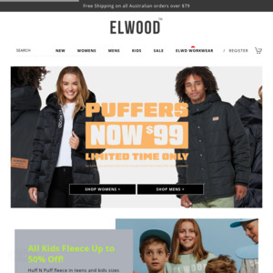 Elwood Clothing Australia