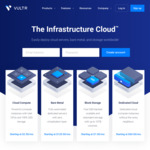 VULTR: Deals, Coupons and Vouchers - OzBargain