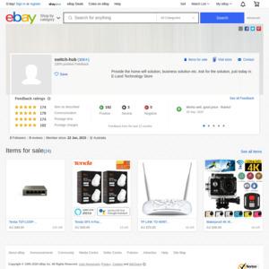eBay Australia switch-hub