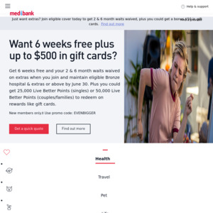 15,000 Flybuys Points When You Take out Medibank Pet ...