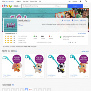 Fur Real eBay (Hasbro)