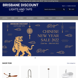 Brisbane Discount Lights and Taps
