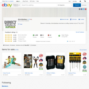 eBay Australia directdealsau