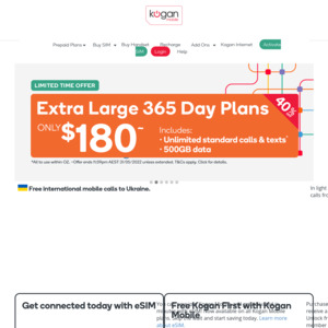 Kogan Mobile: Deals, Coupons and Vouchers - OzBargain