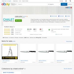 eBay Australia chalet-online*