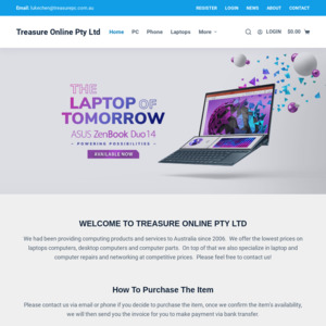 Treasure Hi-Tech PC