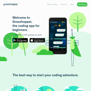 Free] [Android & iOS] Grasshopper: Learn to Code @ Area 120