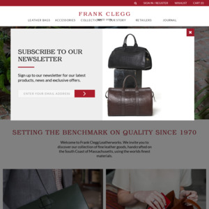 frankcleggleatherworks.com