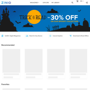 Zinio: Deals, Coupons and Vouchers - OzBargain
