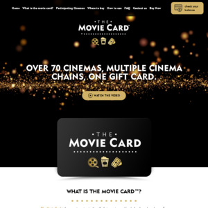 The Movie Card