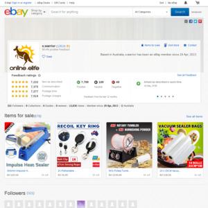 eBay Australia x.warrior