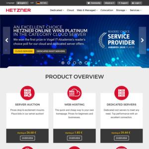 hetzner.com
