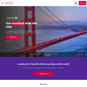 Velocity Frequent Flyer