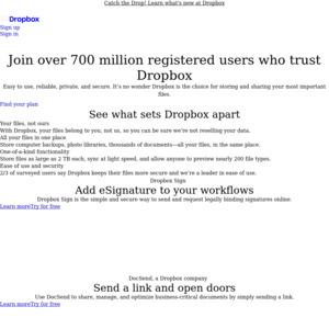 Dropbox Free 1GB Via Mailbox App (IOS) - OzBargain