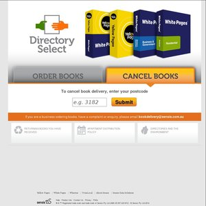 Cancelling White & Yellow Pages Delivery - OzBargain Forums