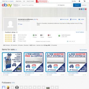 eBay Australia domainairconditioners