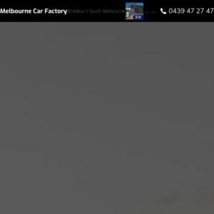 Melbourne Car Factory
