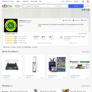 eBay Australia ausbazzar