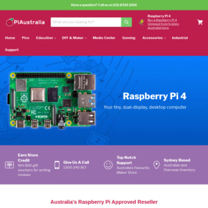 Pre Order] Raspberry Pi 4 Model B 4GB RAM $94 95 + $7 20 Delivery