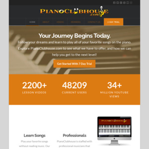 pianoclubhouse.com