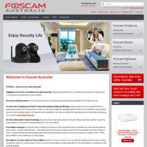 Foscam C1 Lite IP Camera for $40, Free Shipping, from Foscam