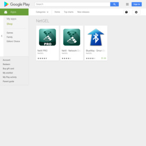 Google Play NetGEL
