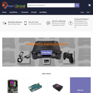 Pre Order] ODROID-GO Game Kit $32 USD + $9 95 USD Shipping (AUD