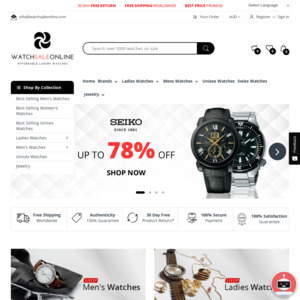 Watch Sale Online