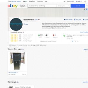 eBay Australia workventures