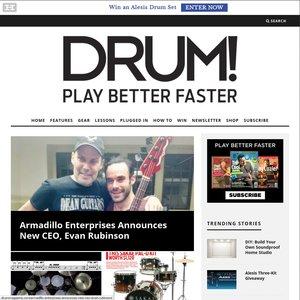 drummagazine.com