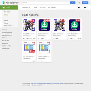 Android] Free - Pro PDF417 QR & Barcode Data Matrix Scanner