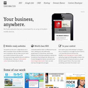 pioneerwebsites.com.au