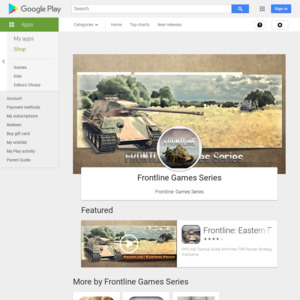 Frontline Games Series