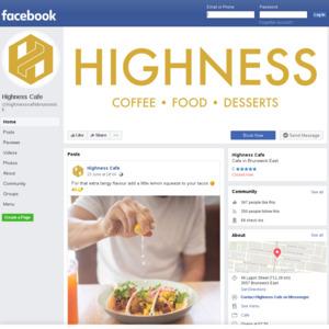 Highness Cafe, Brunswick