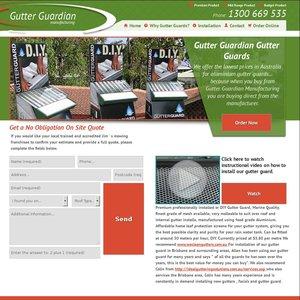 Aluminium Gutter Guard 3 95 A Metre Nitrile Gloves 2 95