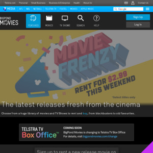 Free Telstra TV 2 if You Have a Bigpond Movies Account