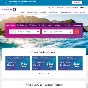 Hawaiian Airlines Australia